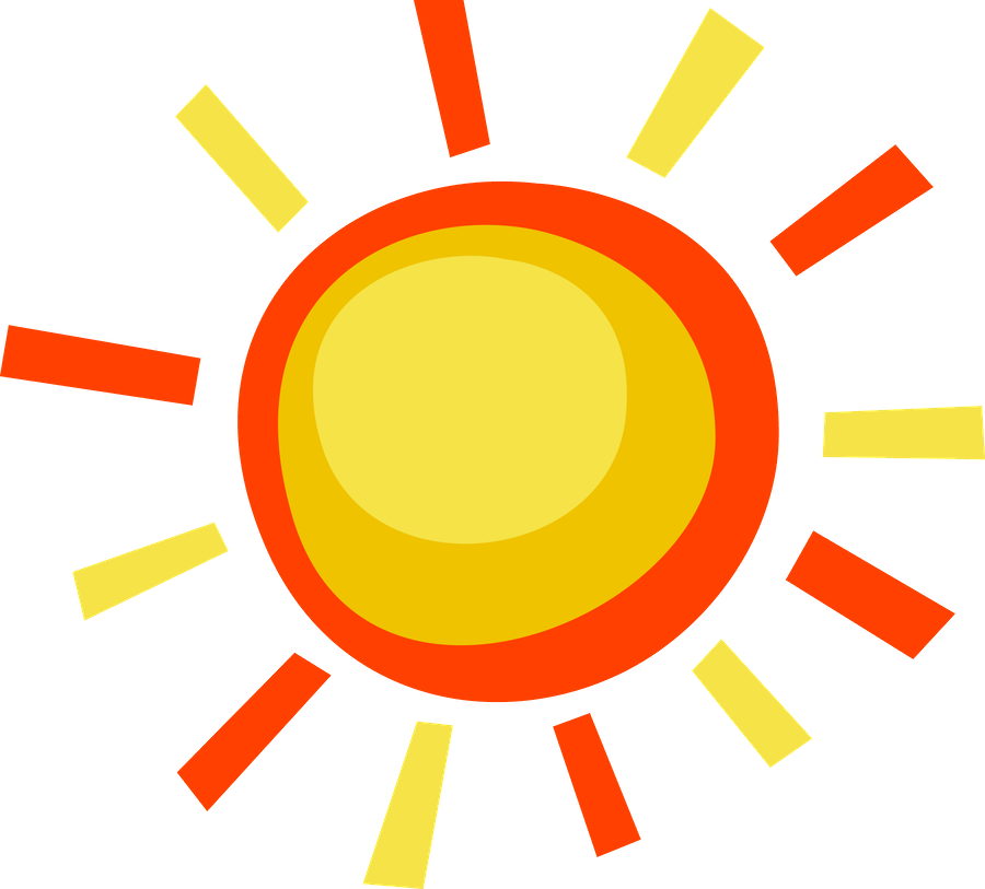 Good morning sun clipart vector transparent Good Morning! (no words -