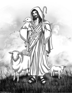 Good shepherd clipart png royalty free library I Am The Good Shepherd Clipart | Free Images at Clker.com - vector ... png royalty free library