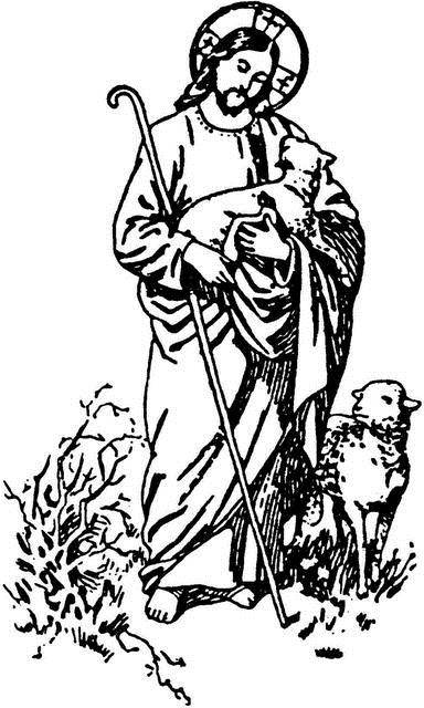 Good shepherd clipart black and white library Good shepherd clipart 5 » Clipart Station black and white library