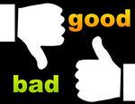 Good vs bad clipart vector black and white stock Good vs bad clipart - ClipartFest vector black and white stock