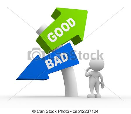Good vs bad clipart clipart royalty free Good And Bad Clipart - Clipart Kid clipart royalty free