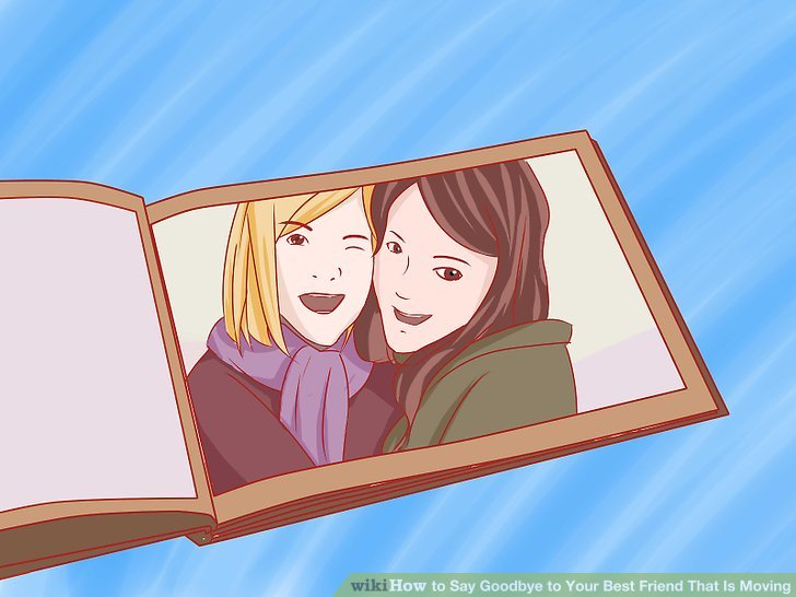 Goodbye and don t forget to read clipart picture free stock 4 Ways to Say Goodbye to Your Best Friend That Is Moving - wikiHow picture free stock