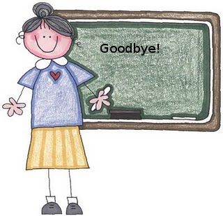 Goodbye and don t forget to read clipart banner royalty free stock Farewell Clip Art | English is as easy as pie: Time to say goodbye ... banner royalty free stock