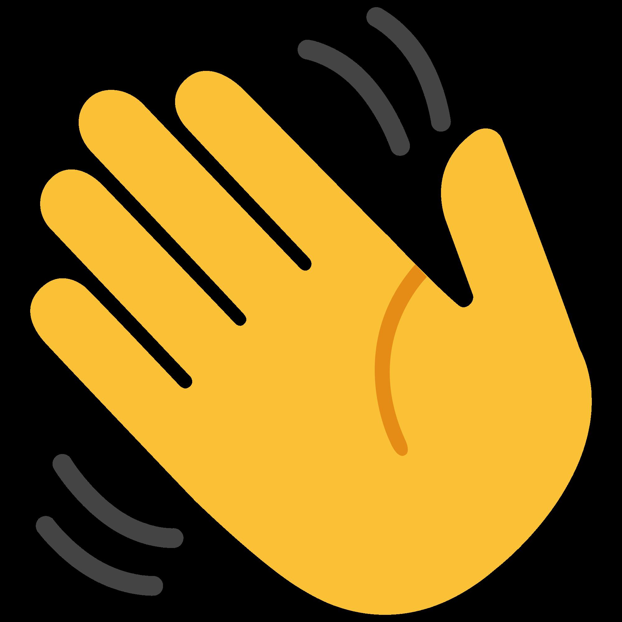 Goodbye hand clipart clip free Hand Waving Goodbye Clipart clip free