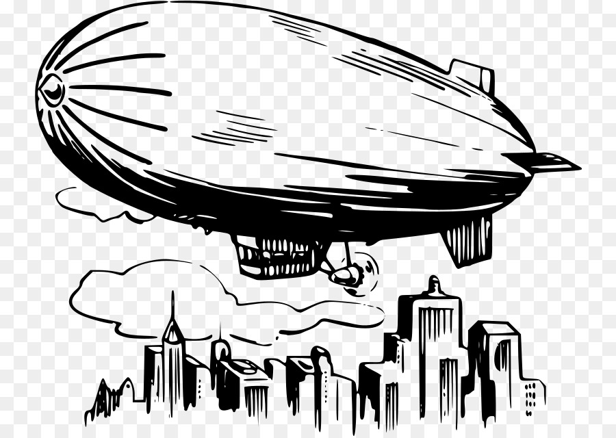 Goodyear blimp clipart clipart transparent download Goodyear Blimp Black And White png download - 800*637 - Free ... clipart transparent download