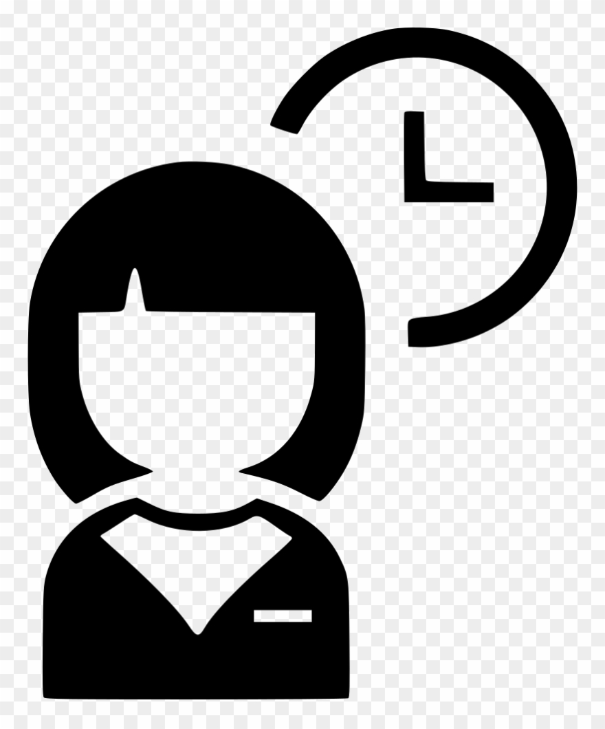 Google assistant icon clipart banner black and white Secretary Clipart Icon - Office Assistant Icon Png Transparent Png ... banner black and white