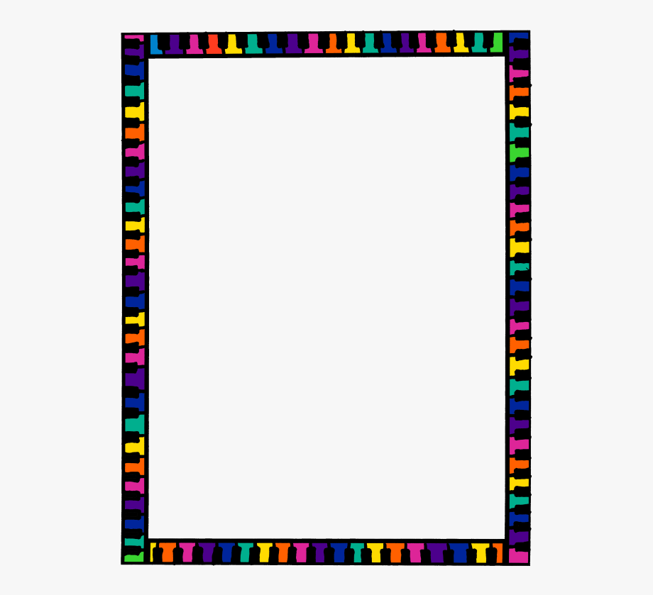 Google borders clipart clip art transparent Colorful Border Clipart Borders And Frames Clip Art - Transparent ... clip art transparent