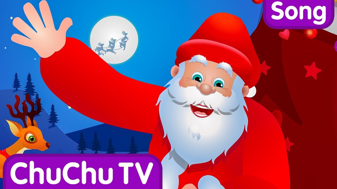 Google clipart jesus means christmas to me clipart transparent download The Spirit of Christmas | Santa Claus Is Coming To Town | Christmas Songs  For Children by ChuChu TV clipart transparent download