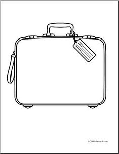Google clipart search graphic freeuse library black and white luggage clip art | BROWN transfer | Pinterest ... graphic freeuse library