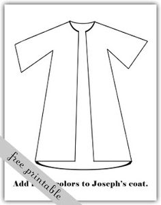 Google clipart search clip library joseph's coat clipart colouring in - Google Search | Kids church ... clip library