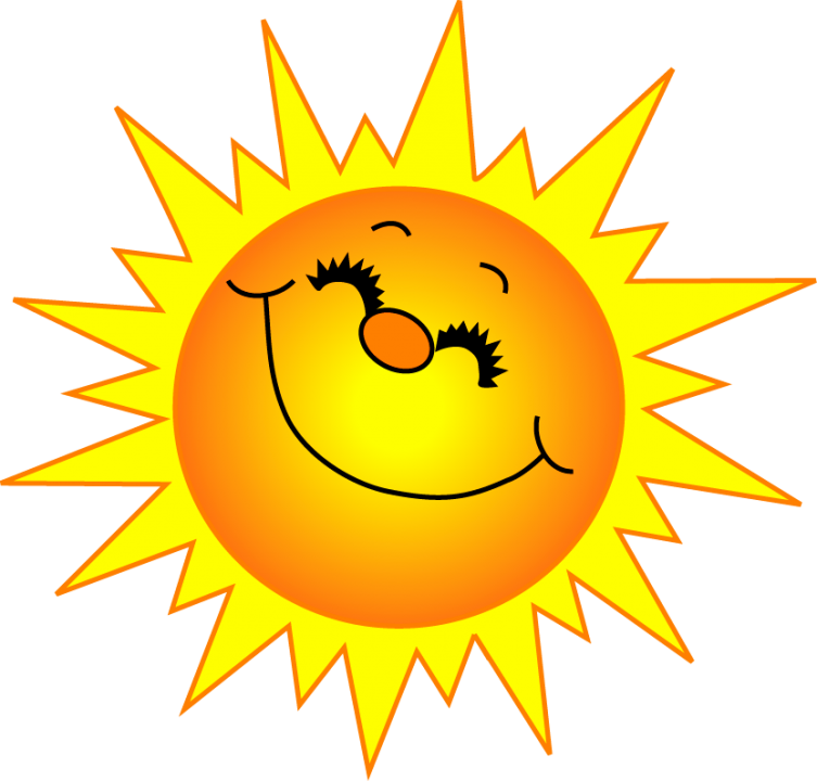 Clipart morning sun