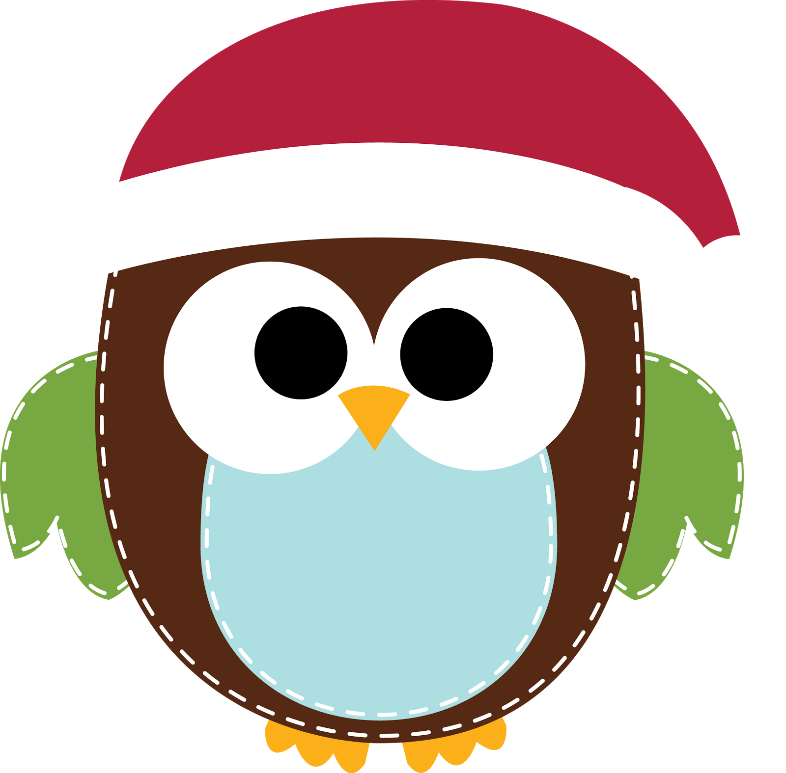 Owl turkey clipart vector freeuse Free Merry Christmas Clip Art | Clipart Panda - Free Clipart Images vector freeuse