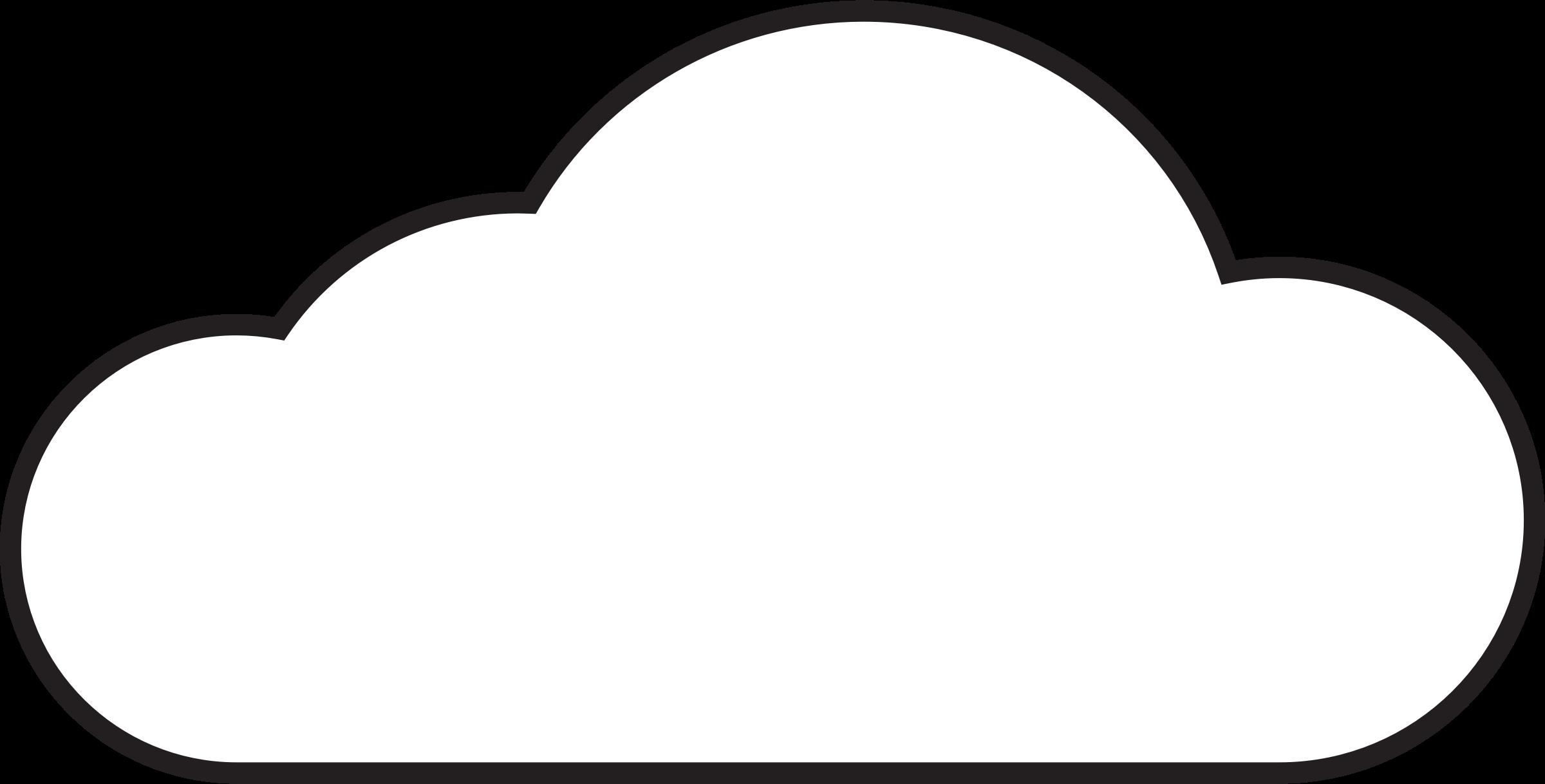 Clipart Cloud & Cloud Clip Art Images - ClipartALL.com clip free download