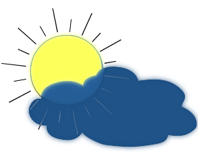 Sun Cloud Clipart   Clipart Panda - Free Clipart Images image library download