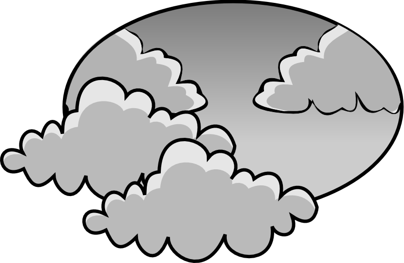 Gray Cloudy Clipart - Clipart Kid clip royalty free download