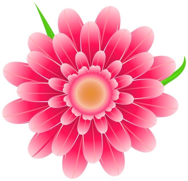Clipart pink flower image transparent stock Transparent Pink Flower Clipart PNG Image | Various pics | Pinterest ... image transparent stock