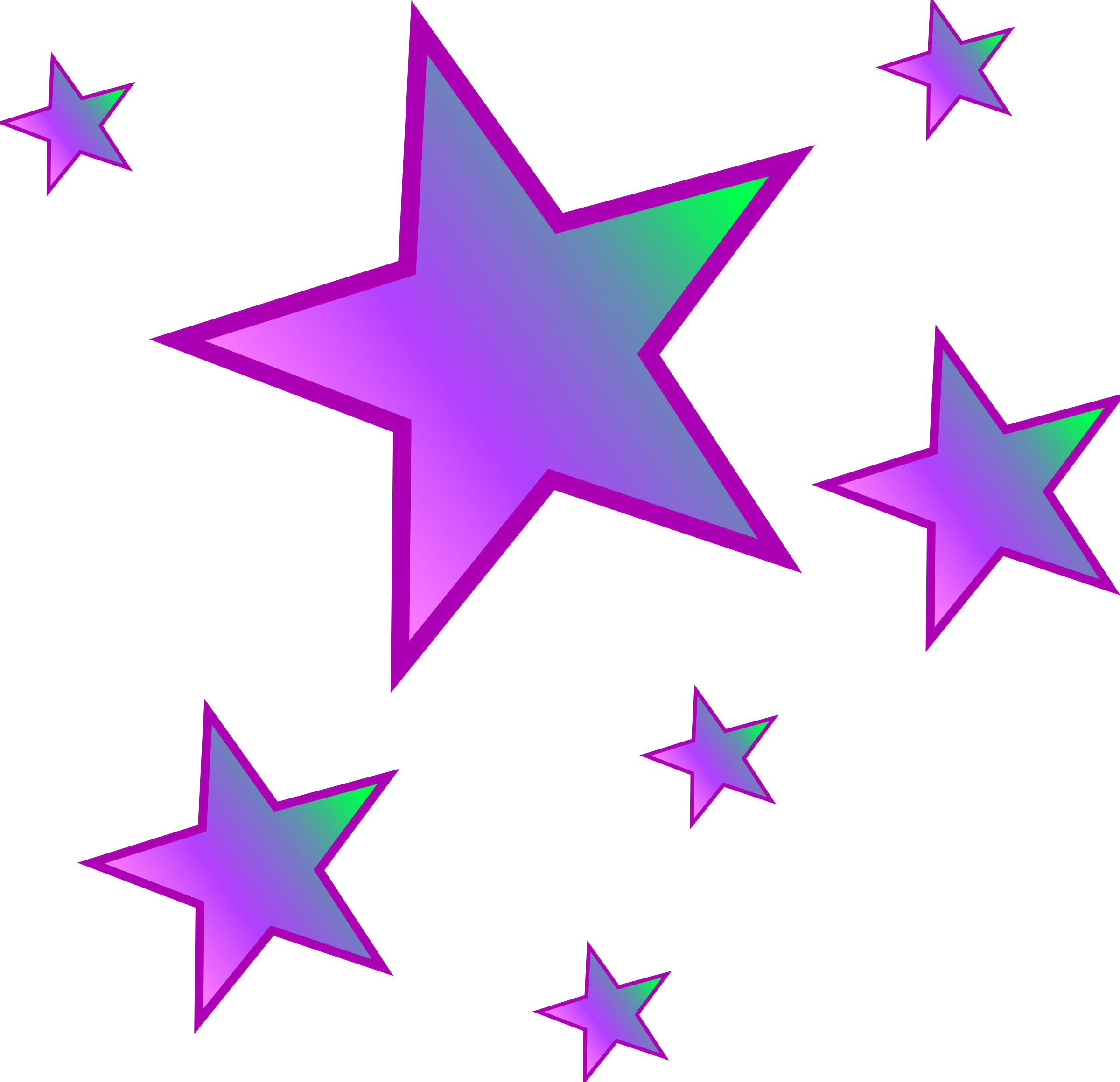 Clipart star cluster clip art freeuse stock Stars clipart - ClipartFest clip art freeuse stock