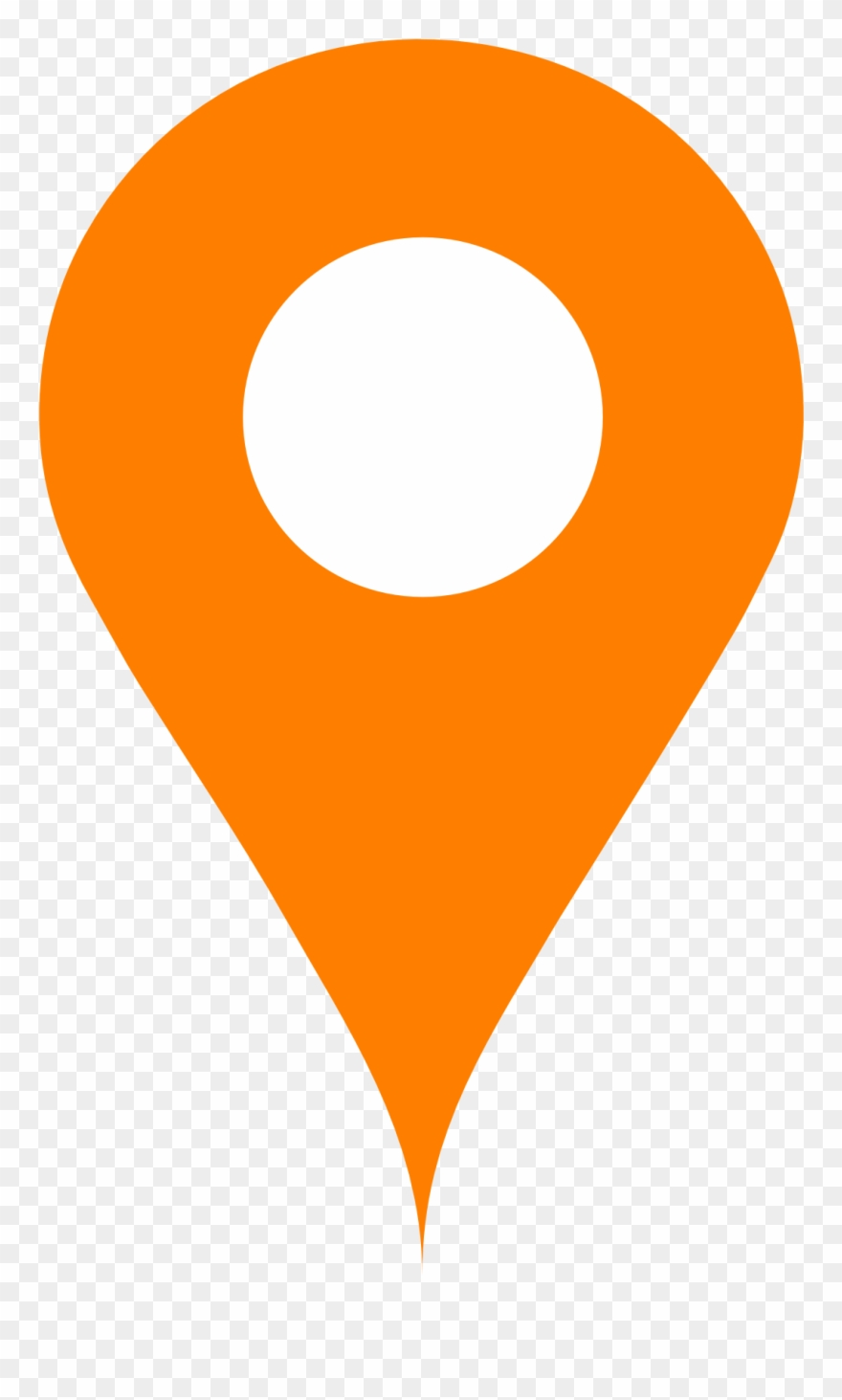 Location icon clipart graphic royalty free library Orange Map Pin - Orange Location Icon Png Clipart (#798120) - PinClipart graphic royalty free library