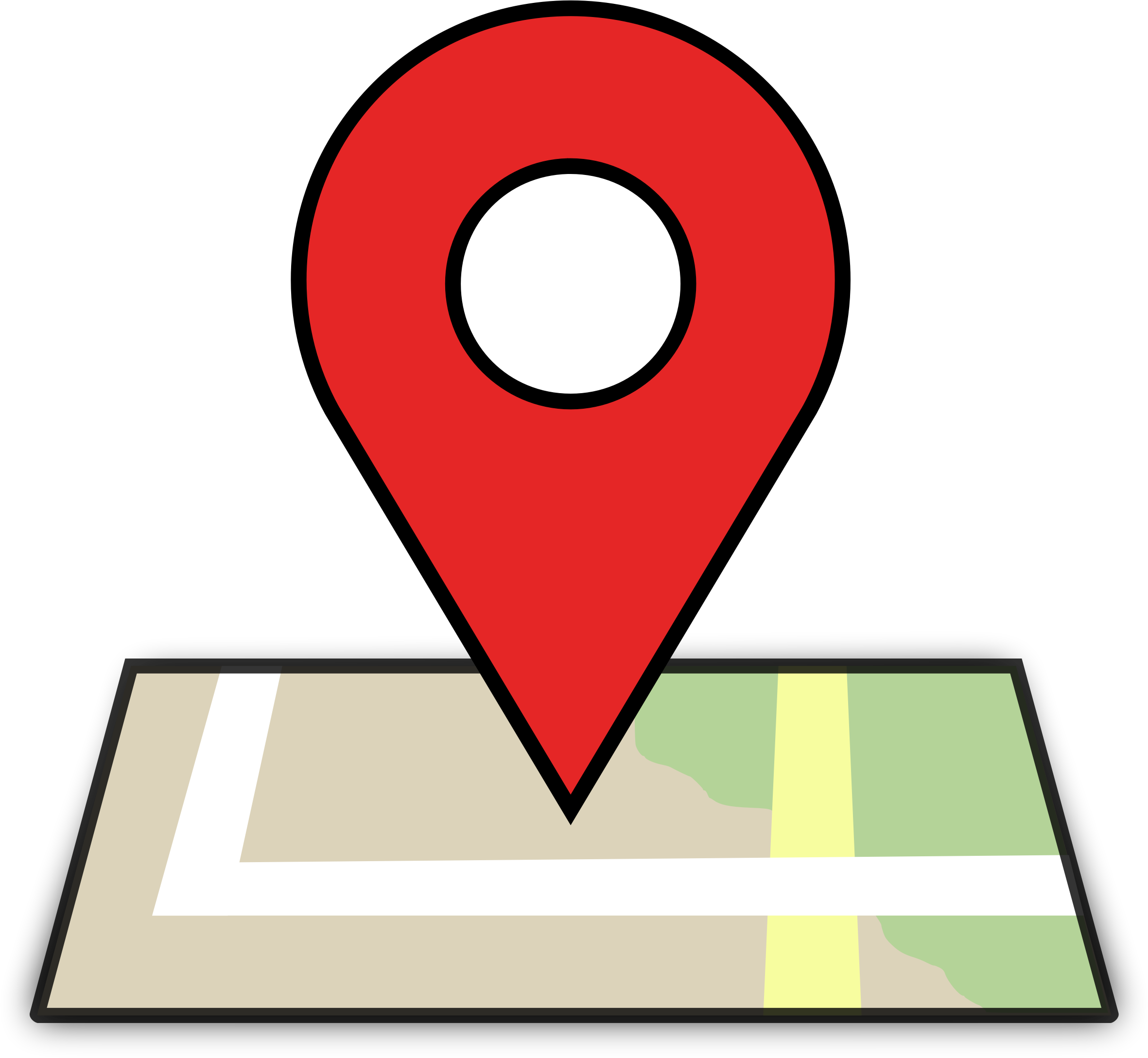 Google map images clipart svg free library Clipart - Map Location svg free library