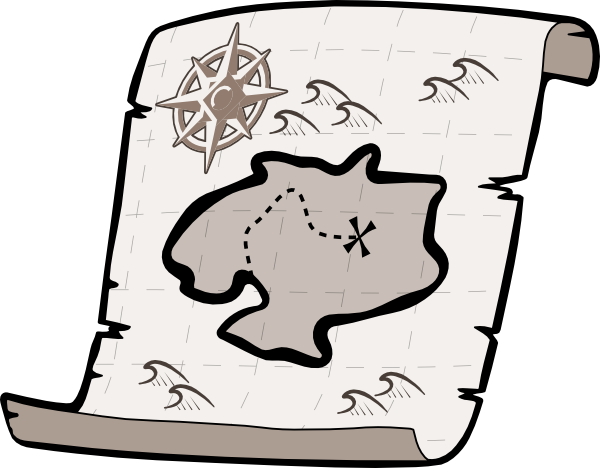 Google map images clipart clip library Treasure Map Outline | Free Download Clip Art | Free Clip Art | on ... clip library