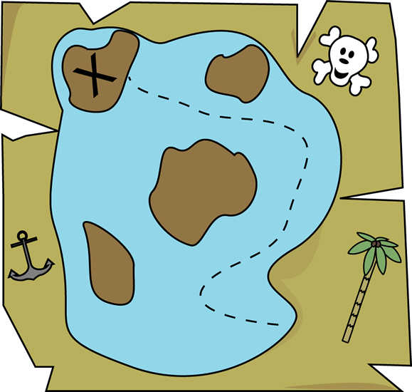 Google map images clipart clipart royalty free download Pirate Treasure Map Clip Art - Pirate Treasure Map Image clipart royalty free download