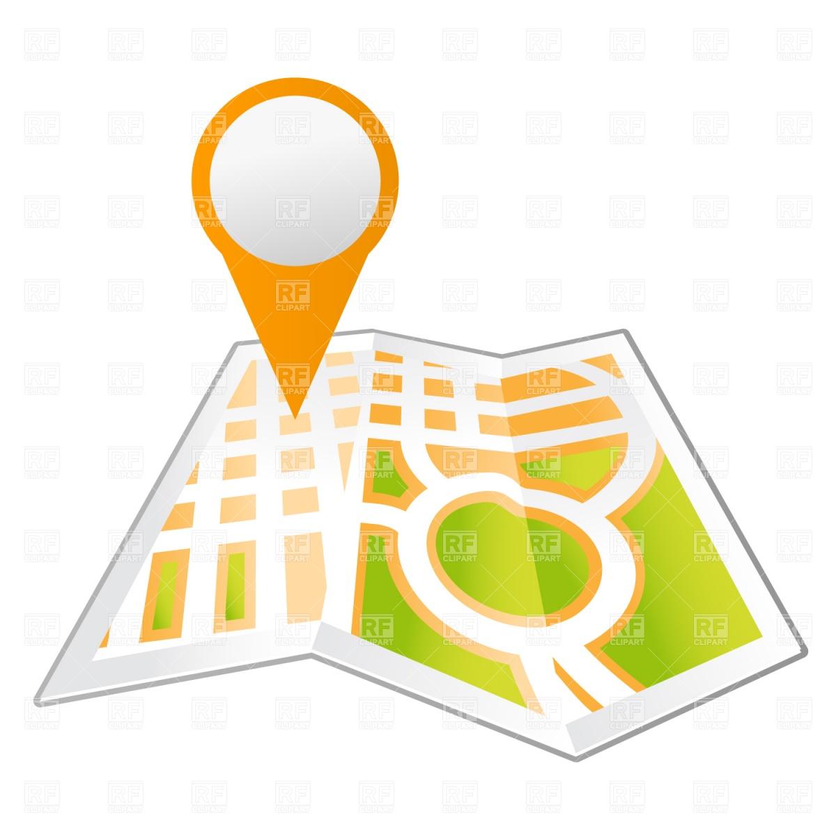Google map images clipart clipart transparent library Google map pin point clipart - ClipartFest clipart transparent library