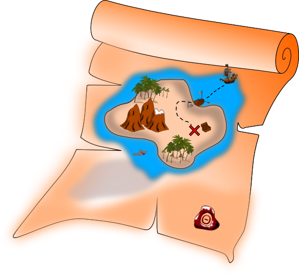 Google map images clipart freeuse Five Reasons Why a Value Stream Map Is Like a Pirate's Treasure ... freeuse