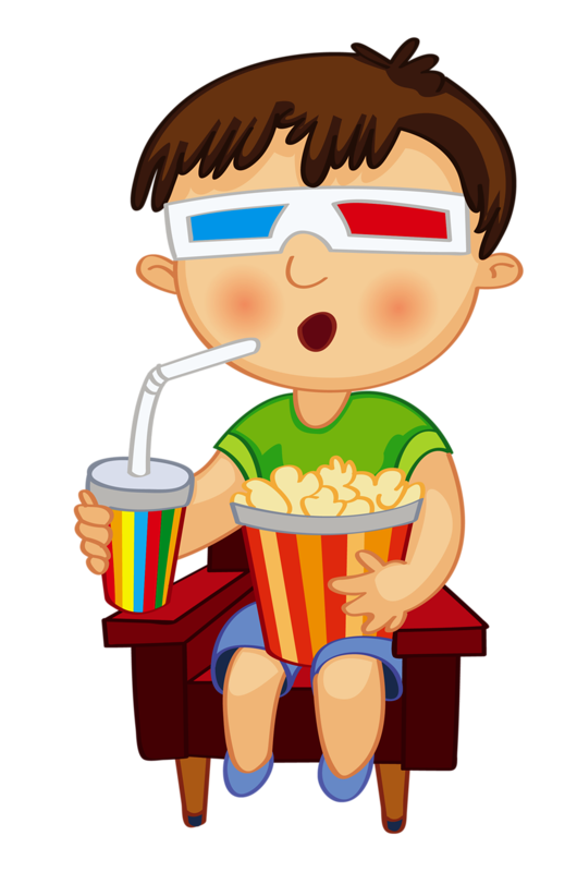 Google play movies clipart vector free Watching Movie Clipart | Free download best Watching Movie Clipart ... vector free
