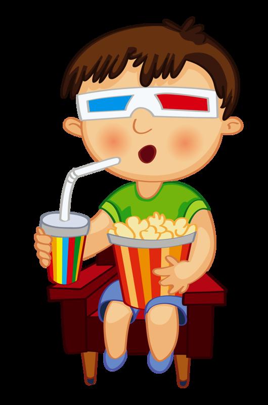 Watching Movie Clipart | Free download best Watching Movie Clipart ... vector free