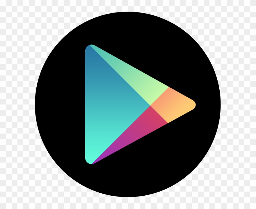 Google play store clipart logo png download Apps Google Play Icon - Google Play Store Icon Circle Clipart ... png download