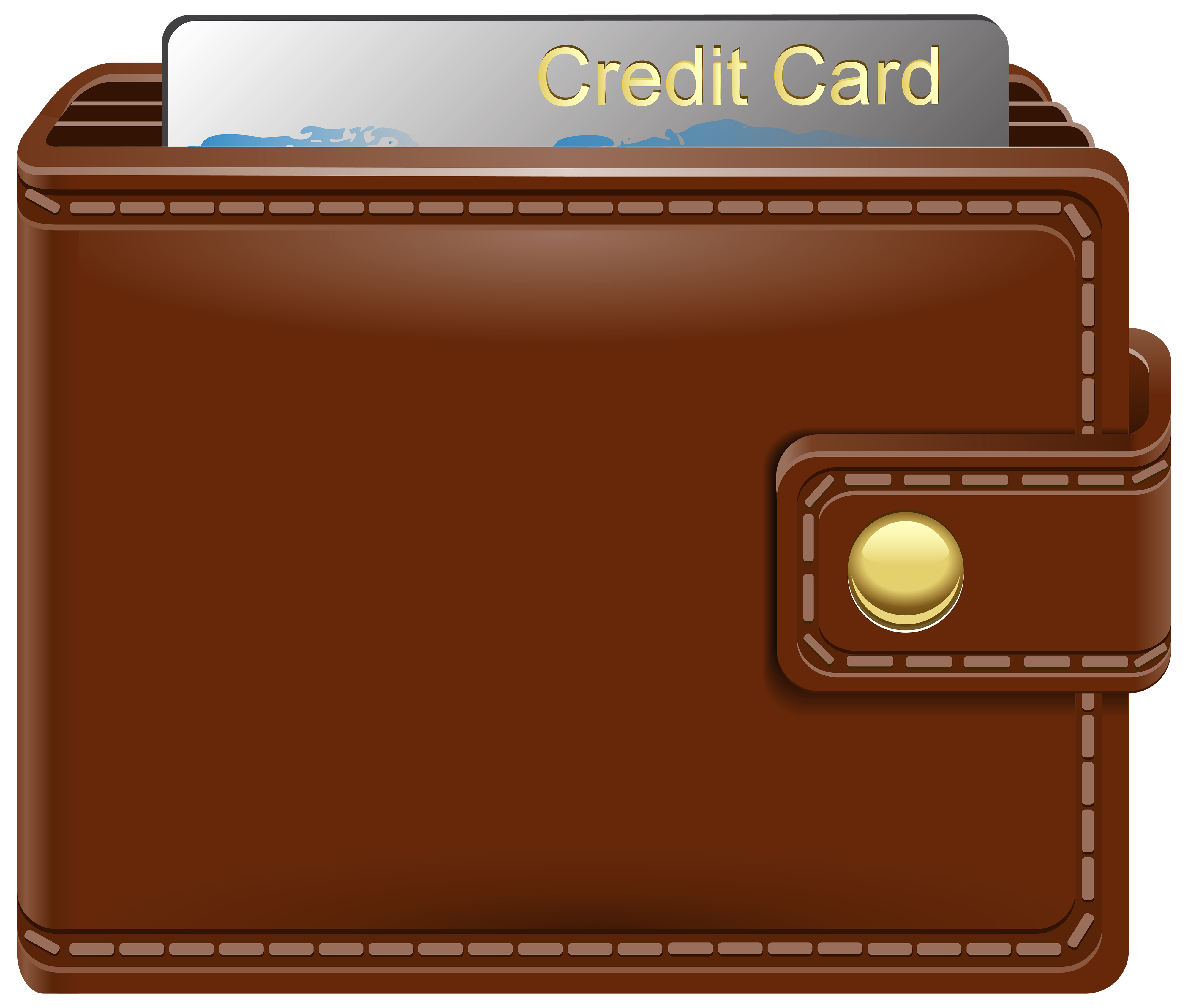 Google wallet clipart image library Wallet with Credit Card PNG Clipart - Best WEB Clipart image library