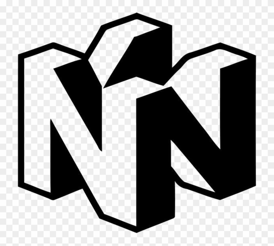 Google white logo clipart clipart free stock Nedstore Terminals - N64 Black And White Logo Clipart (#3920263 ... clipart free stock
