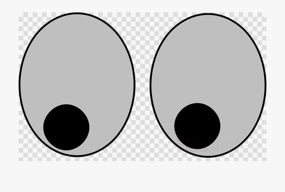 Googly eyes clipart transparent graphic black and white download Eyes No Background Clipart Googly Eyes Clip Art - Transparent Emoji ... graphic black and white download