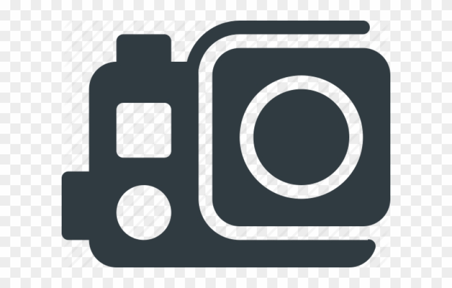 Gopro clipart logo image royalty free Gopro Camera Clipart Sport - Go Pro Icon Png Transparent Png ... image royalty free
