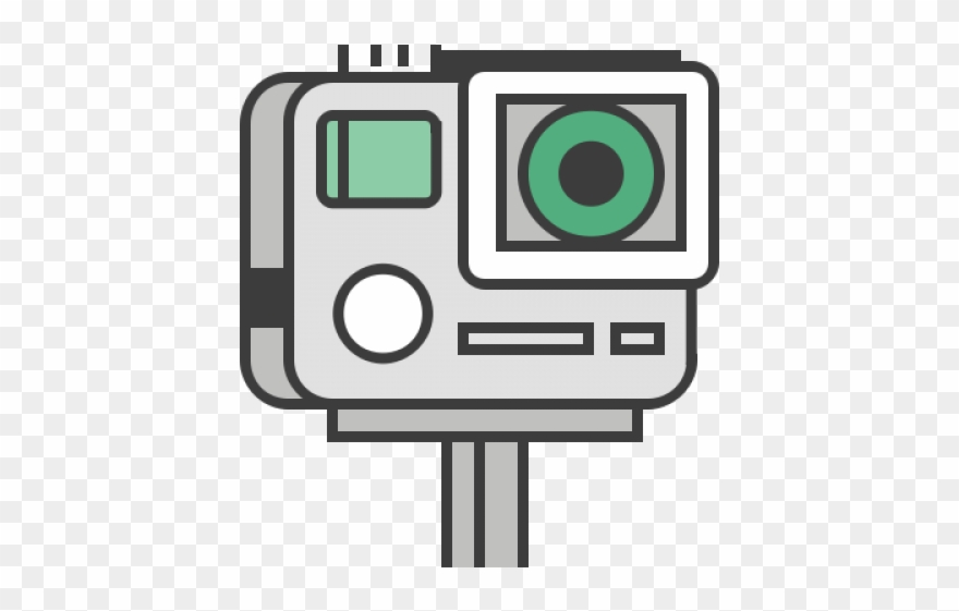 Gopro clipart logo image royalty free library Gopro Camera Clipart Pro - Travel Camera Icons Png Transparent Png ... image royalty free library