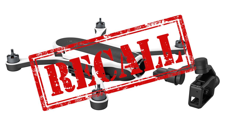 Gopro karma clipart image black and white GoPro Recall Karma Drone - Whitelines Snowboarding image black and white
