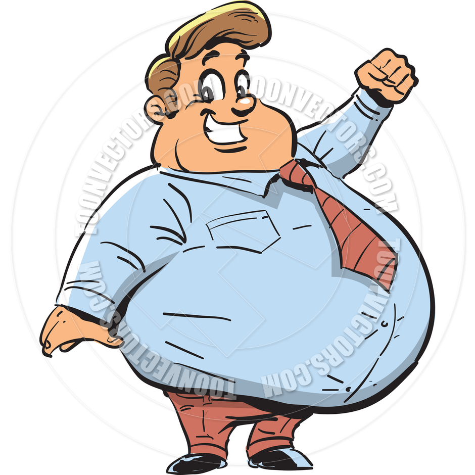 Gordo clipart clipart royalty free download Happy Fat Guy | Clipart Panda - Free Clipart Images clipart royalty free download