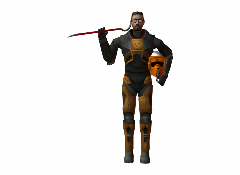 Gordon freeman clipart image freeuse Half Life Gordon Freeman Png | Transparent PNG Download #953336 - Vippng image freeuse