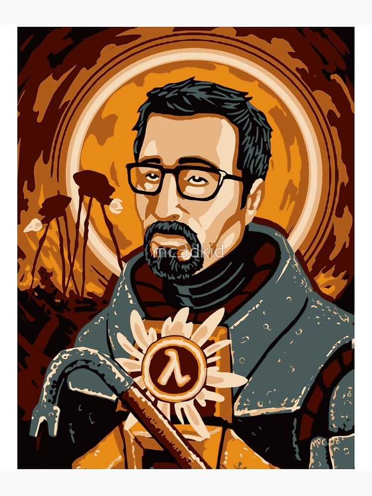 Gordon freeman clipart graphic transparent stock Gordon Freeman Savior of Half Life | Poster graphic transparent stock