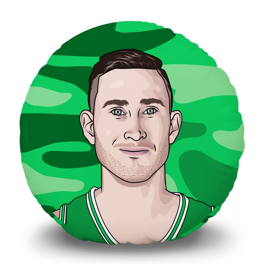 Gordon hayward clipart clip art transparent Gordon Hayward Boston Celtics 15\'\' Round Pillow Head clip art transparent