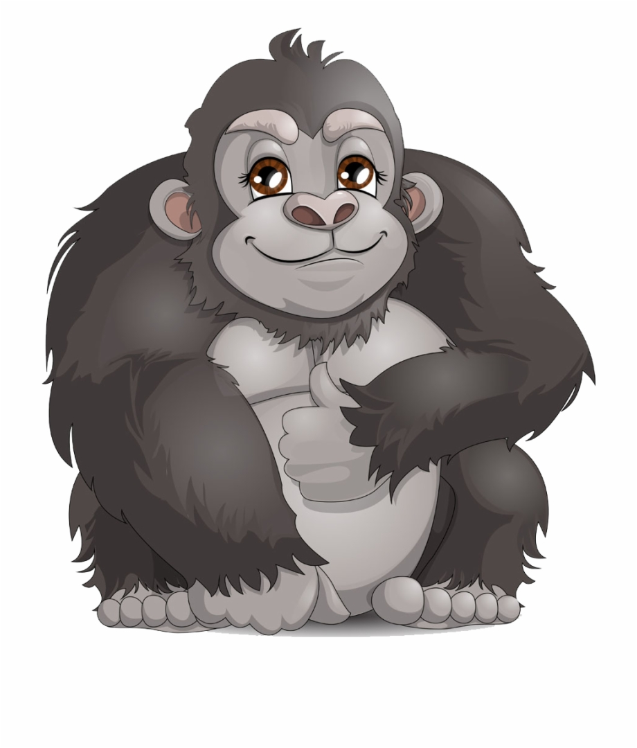 Gorilla Clipart Png - Gorilla Clipart Free PNG Images & Clipart ... picture