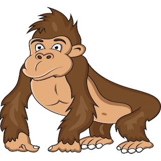 Gorilla cartoon png clipart images gallery for free download ... freeuse library