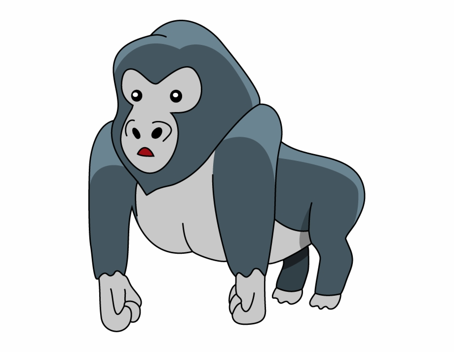 Gorilla 20clipart - Gorilla Clipart Png, Transparent Png Download ... jpg free library