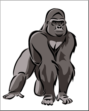 Gorilla images clipart clip royalty free Gorilla clipart » Clipart Portal clip royalty free