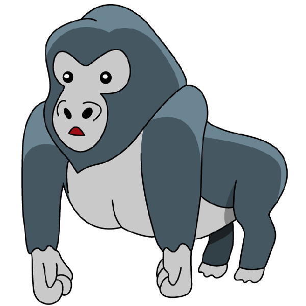 Gorilla images clipart banner royalty free library Gorilla Clipart at GetDrawings.com | Free for personal use Gorilla ... banner royalty free library