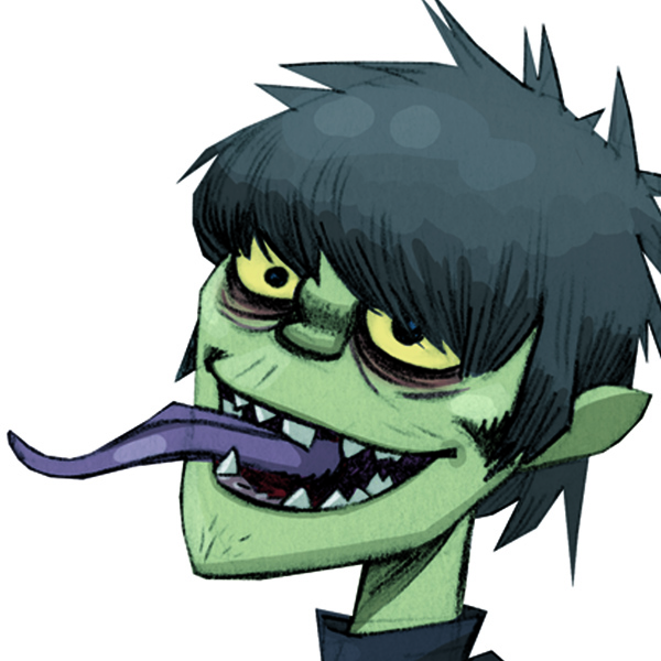 Gorillaz murdoc clipart png transparent Gorillaz\'s Murdoc Niccals plays \'Plastic Beach\' songs during NME ... png transparent