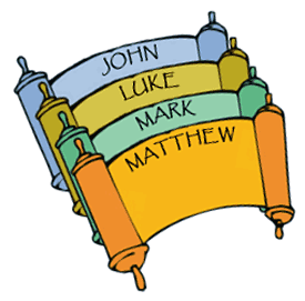 Gospel gifts clipart vector freeuse library Each of the four Gospels (Matthew, Mark, Luke, and John) in the New ... vector freeuse library