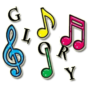 Free Gospel Singing Cliparts, Download Free Clip Art, Free Clip Art ... jpg black and white