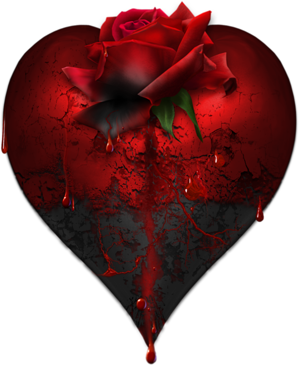 Goth heart clipart picture transparent Broken Heart | GİF | Pinterest | Animated heart, Heart gif and Gifs picture transparent
