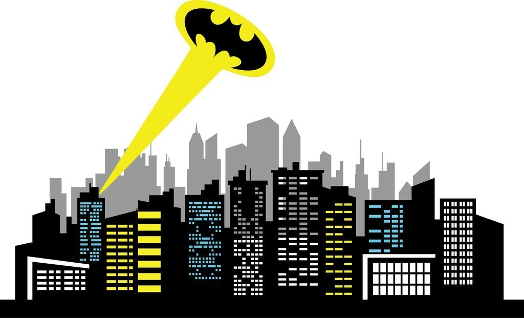 Gotham city clipart picture library download Gotham city clipart 4 » Clipart Station picture library download